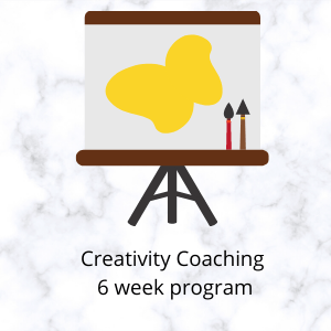Creativity Coaching - 6 sessions to work through specific issues/ideas