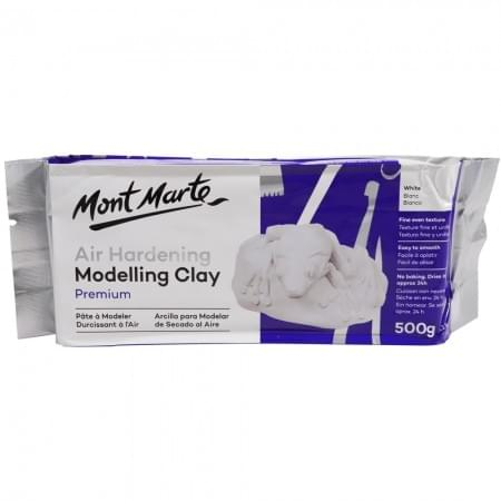 Air Hardening Modelling Clay White 500g