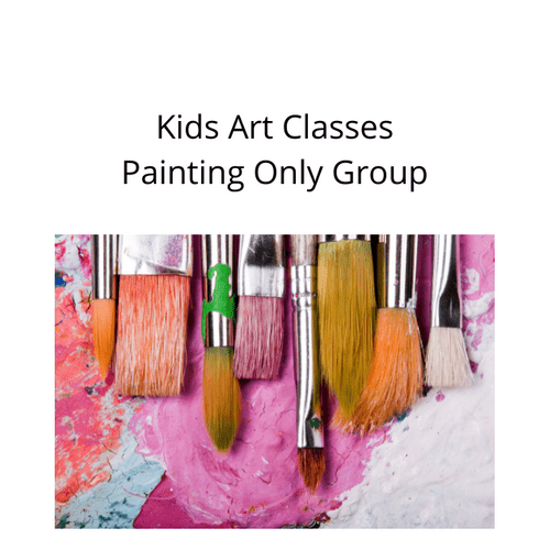 Kids Creative Art Group - Weekly - Monday - 5.30 - 6.30 Term 3 - Painting only group