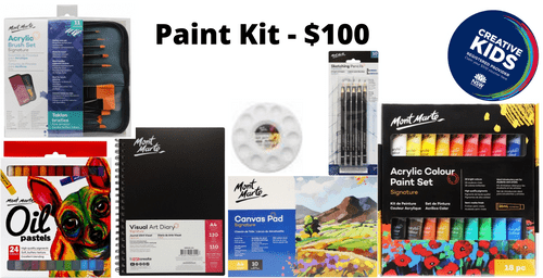 Paint Kit - $100 - THIS KIT IS NOW NOT AVAILABLE TILL 1ST FEBRUARY DUE TO STOCK SHORTAGES