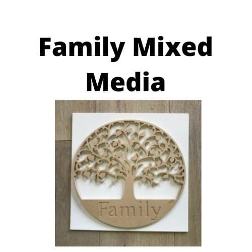 Family Mixed Media - At home kit - School Holidays - Zoom link will be sent with order