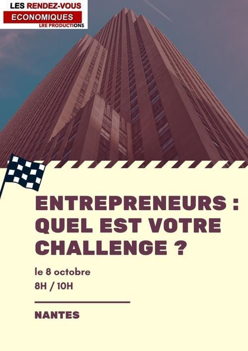 Vendredi 8 octobre - Nantes - 8H/10H