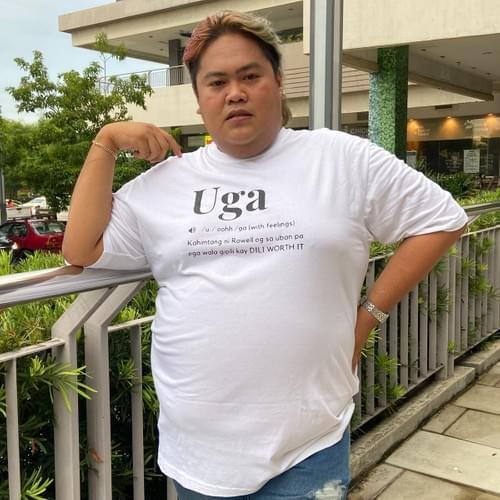 Uga Tshirt by Rowell Divina aka Pambansang Uga