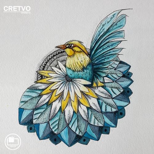 Kort | Mandala Bird 2020