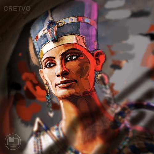 Kort | Queen Nefertiti (The Believer)