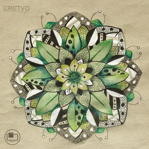 Cards | Mandala Green 2020 (Sara's collection)