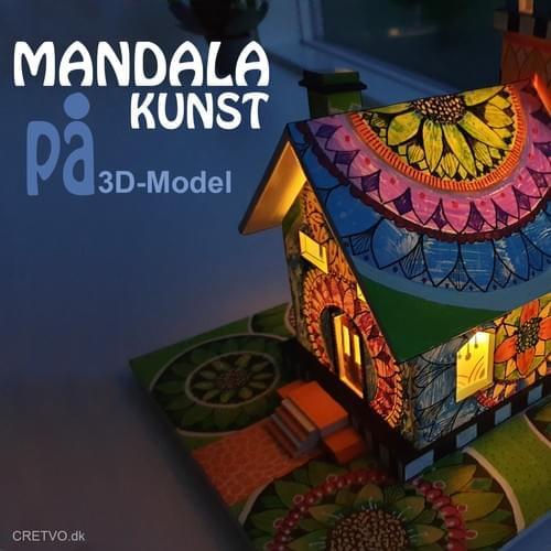 Mandala in 3D-Model