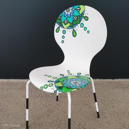Chair - Mandala drop