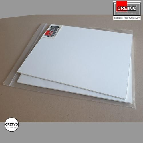 Standard Foam Board, 210x260 mm, 5mm thick, white. 2 pieces