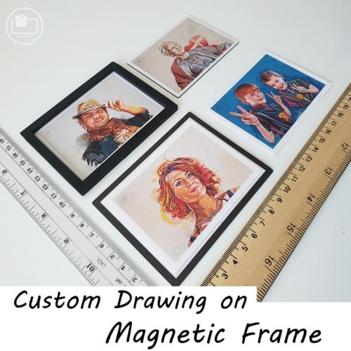 Custom Drawing (magnetic frame)