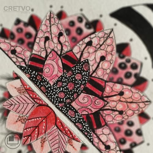 Card | Mandala Red 2020