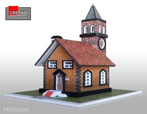 LED 3D Puzzle House (SIMPLET)
