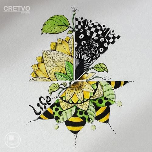 Kort | Mandala Bee