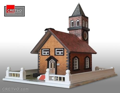 LED 3D Puzzle House