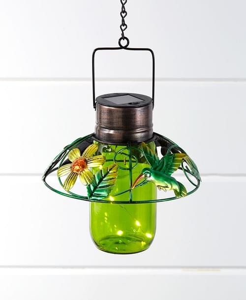 Colorful Glass Mason Jar Lanterns 162006027
