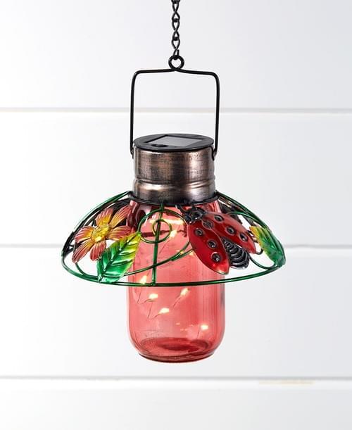 Colorful Glass Mason Jar Lanterns 162006019