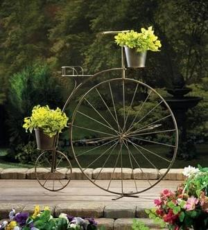 OLD-FASHIONED BICYCLE PLANT STAND 10016041