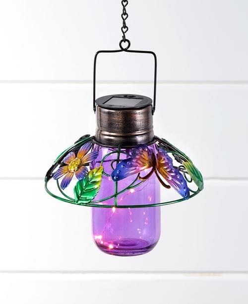 Colorful Glass Mason Jar Lanterns 162006035