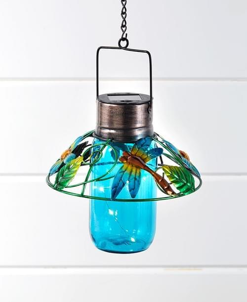 Colorful Glass Mason Jar Lanterns : 162006043