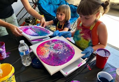 Kids Private Paint Pour Party!