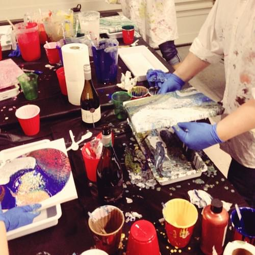 Adult Private Paint Pour Party!
