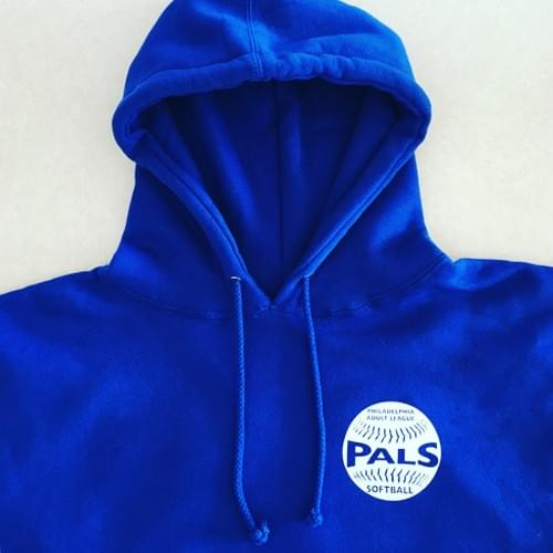 PALS Royal Blue Hooded Sweatshirt