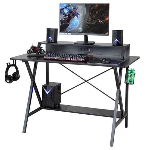 Sedeta Gaming Desk, Gaming Table, E-Sports Computer Desk, Gaming Workstation Desk