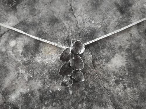 Myrtle beech twig pendant