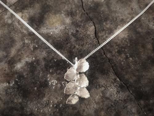 Myrtle twig pendant