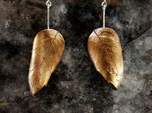 Sassafras articulated stud earrings