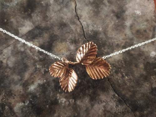 Fagus beech necklace