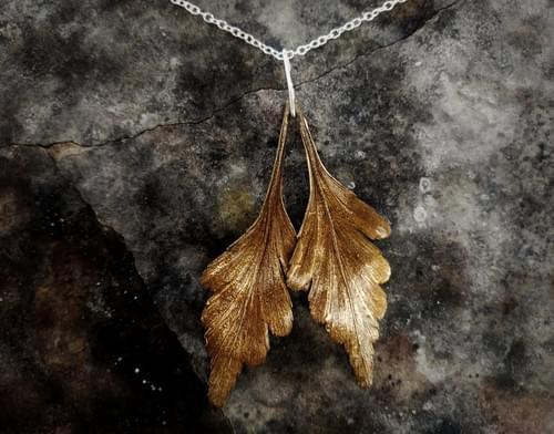 Celery top pine pendant
