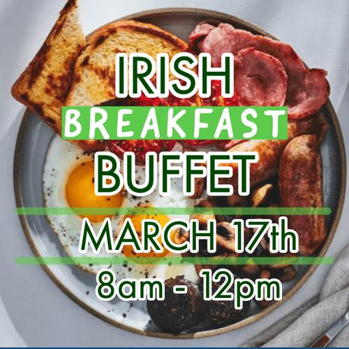 St. Patrick's Breakfast Buffet