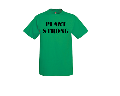 Plant Strong Tee- Shirt