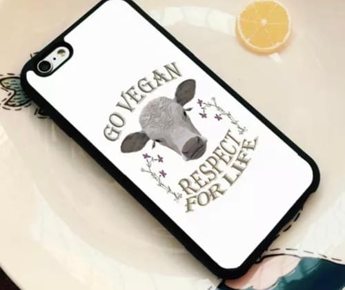 Go Vegan Phone Case