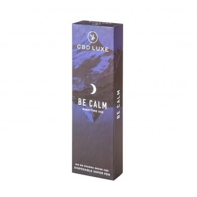 Be Calm Disposable Vape -- Luxe