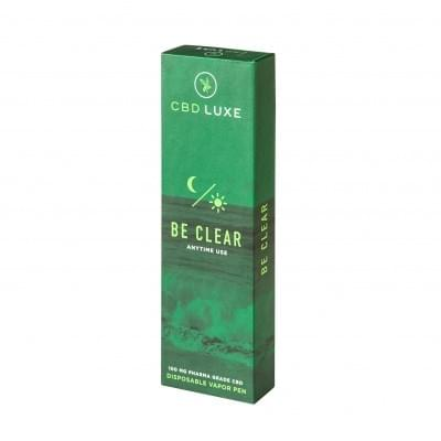 Be Clear Disposable Vape -- Luxe