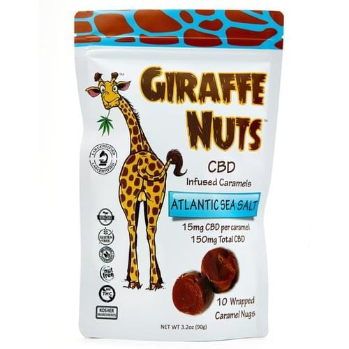 Giraffe Nuts -- Sea Salt Caramels