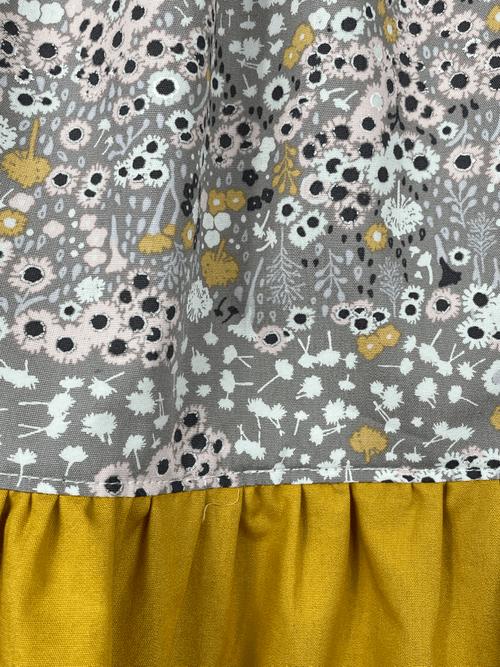 Emma Ruffle Dress - Earthen Glow