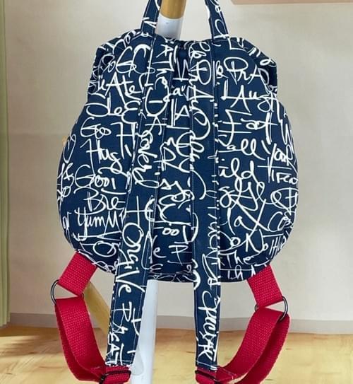 Toddler Backpack - Words