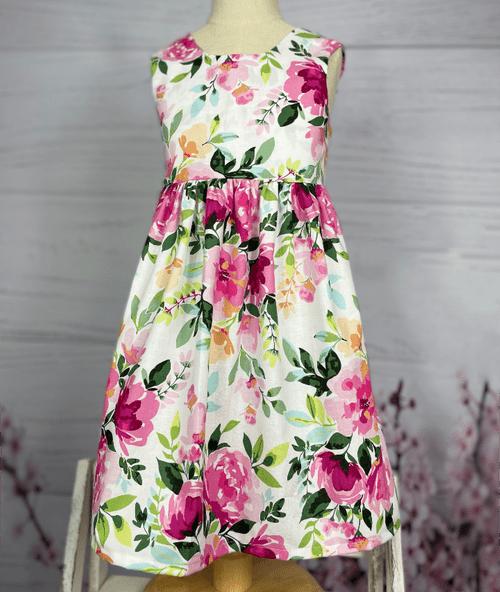 Winnie Bow Dress - Pretty in Pink