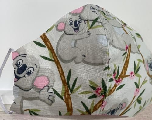 Koala Mask - Child 3-6yrs