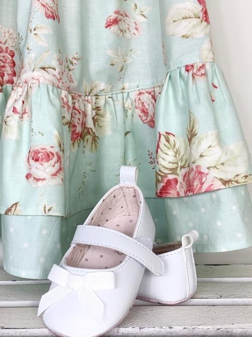 Ruffle Dress - Roses in Bloom