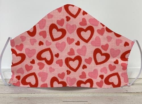 Hearts Mask