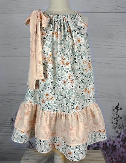 Emma Ruffle  Dress - Pretty in Pink