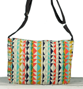 Messenger Bag Bright and Breezy