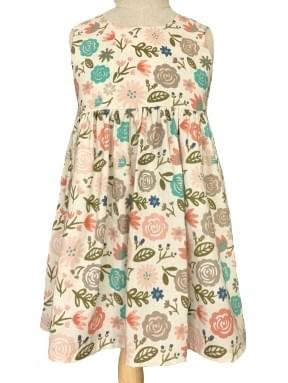 Bow Dress - Winter Blooms