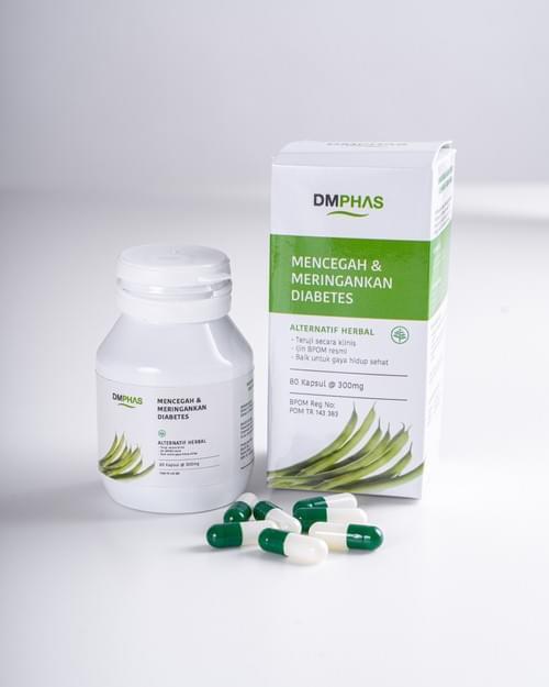 Obat Herbal Diabetes - DMPhas Original