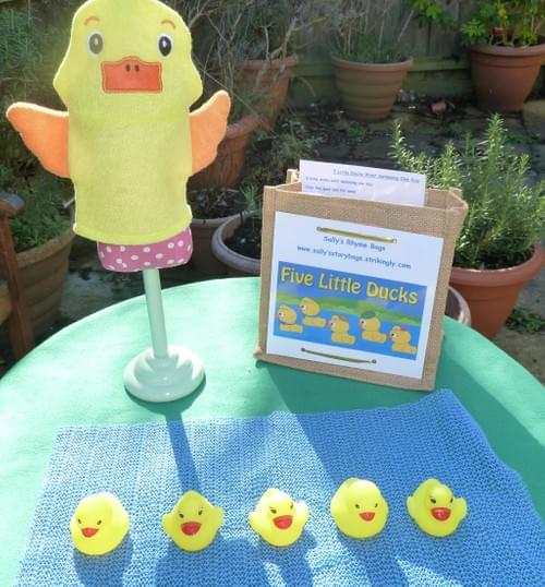 5 Little Ducks Rhyme Bag
