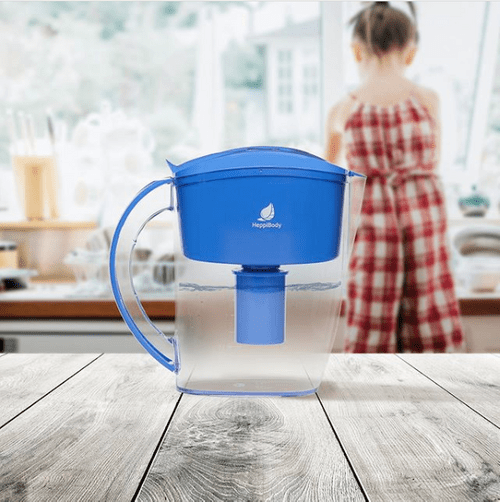 HEPPI 2.0L BLUE ALKALINE WATER FILTER JUG